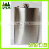 10 oz Men's Stainless Steel Hip Flask Alcohol Wine Pot Flagon Outdoor Travel drink wine bottle Hip Flask