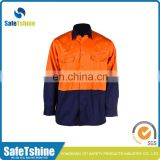 Factory sale various widely used durable reflective fire retardant suit