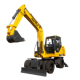 HAITUI HEW90    Wheel Excavator/excavators/machines/construction machinery/earthmoving equipment/machinery