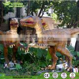 park entertainment emulational mechanical dinosaur