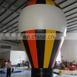 cheap giant advertising Inflatable rooftop yellow orange ground balloon