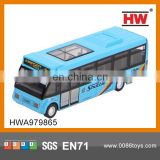1:64 Diecast Bus Pull Back Car 6PCS/ BOX
