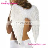 Hot selling halloween carnival costumes party cheap large angel wings