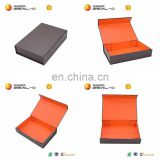 37x27x13CM Orange Color Printed Cardboard Storage Dress Box Packaging in Shenzhen