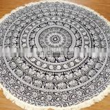 Beautiful mandala beach round roundie mandala tapestry