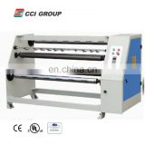PVC Laminating film roll cutting machine for woodworking
