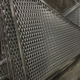 Powder / Polyester Surface  Restaurants / Cafes / Offices Aluminum Mesh Screen