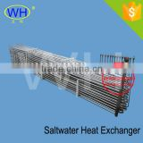 Chilled water cooling coil titanium tube coil for heat exchange