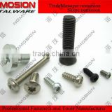 Countersunk flat head electronic screws