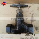 DN15 PN16 PTFE Sealed Russian Screwed Globe Valve