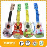 custom child educational wooden toys wood learning toy musical instruments toy guitar for kids wooden toy guitar 17 inch guitar