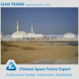 Light steel structure dome coal storage house