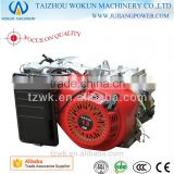 OEM CE approved GX210 7.0hp 210cc dicplacement electric start, small gasoline half engine