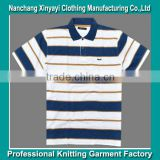 Brazil yarn dye stripe Dri Fit T-Shirts Wholesale / Clothes Made in China Garment Factory Price Supply
