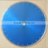 "16""/400mm Segmented saw blade Professional Asphalt cutting tools 25.4mm Arbor 10mm segments"