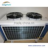 Industrial refrigeration condenser unit for cold room