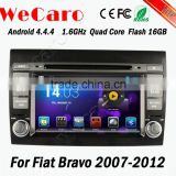 Wecaro WC-FB7000 Android 4.4.4 car dvd player 1080p radio gps for fiat bravo 2007 - 2012 OBD2