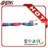 300/500v 450/750V Red&yellow twisted core flexible copper conductor RVS electrical wire