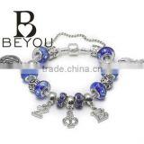 cusotm Sorority PDI Charm Bracelet for Zeta Phi BetaJewelry with Beads And Charm Design bracelet