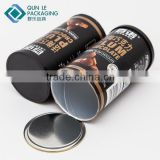 Customized Cardboard Paper Airtight Coffee Canister Manufacture