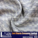 Quality Polyester Check Outdoor Chair Bench Seat Back Pad Fabric