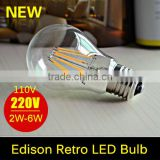 E27 Led Filament Bulb Edison Bulb 110V 220V 2W 4W 6W 8W Lampada Led Lamp Light Glass Globe Lamp Energy Saving Wedding Decoration