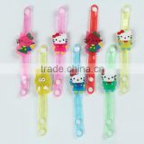 Lovely Smile Kitty Cat Girl's favourite flashing bracelet led bracelet led wristband