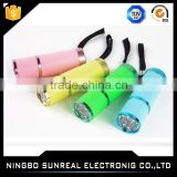 Made in China top gifts promotion powerful uv flashlight