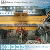 Double beam mobile electric trolley overhead crane design
