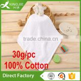 Hot sale 100% Cotton White Plain dyed Small size Hand Towel                                                                         Quality Choice
