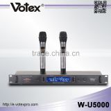 Votex 2 channel professional uhf wireless microphone                                                                         Quality Choice