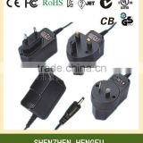 12W series 6V 1.5A 7.5V 1A 9V 1A 12V 1A AC DC Power Adapter