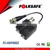 CCTV UTP BNC Passive Video Balun with push-pin terminal for HIKVISION AHD CVBS DAHUA Camera