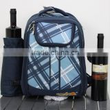 2016 popular picnic cooler backpack with tablewares and picnic blanket                                                                         Quality Choice