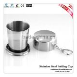 World Cup Stainless Steel Travel Camping Collapsible Cup