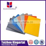 Alucoworld aluminum composite board design acp sheet cheap drywall panels