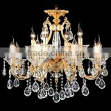 Modern Lamparas Decorative Crystal Glass Hanging Chandelier Lamps Lights and Lightings CZ5016/8+4