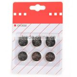 CR2032 3.2V LITHIUM battery button cell batteries Suction card packing Electronic scale battery