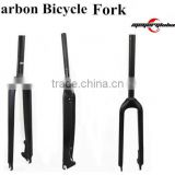 Chinese Cheap Carbon Fork Disc Brake Carbon Bicycle Flat Mount Fork Carbon Road Fork Quality Choice
