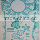 100% cotton <b>sun</b> Sea World <b>Face</b> Towel