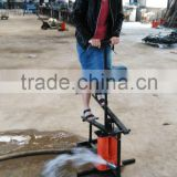 large agricultural underground water filter foot treadle irrigation pump,manual treadle pump with high quality
