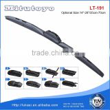 China factory clear view wiper blade multi adapter hybrid wiper for Japanese car part