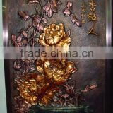2012 new design Bronze mural design Very beautiful HM-19