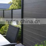 Hot seller eco-friendly wpc fence,wood plastic composite/wpc fence boards,wpc garden fencing