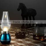 Vintage Style Blowing control LED light lamp Stepless dimming USB Charging night light LED kerosene lamp desk lamp Industrial