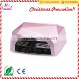2015 Christmas Promotion Products!! Nail dryer machine new 36W UV LED nail lamp nail dryer for nail gel