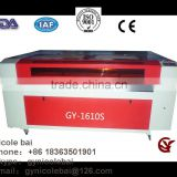 2016 Hot sale handcraft DIY best cost performance GY1610 CO2 3d photo crystal laser engraving machine price