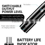 Cloupor super mini zise 1100mah i3 switchable power level battery life indicator airflow control system variety coil i3 e-cig