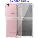 Factory Price Shock-resistant Cushion TPU Case for OPPO R9 Plus, Back Cover for OPPO R9 Plus