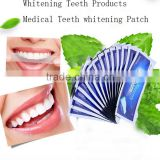 new products 2016 Mint flavor dental teeth whitening strips for oral teeth care